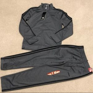 NWT Adidas track/jogging suit 10-12